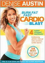DENISE AUSTIN:BURN FAT FAST CARDIO BL BY AUSTIN,DENISE (DVD)